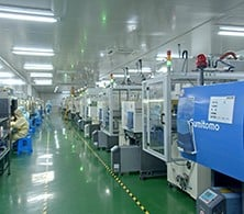 -Clean room injection molding