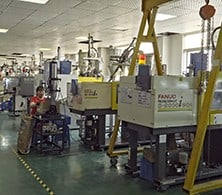 Ordinary injection molding