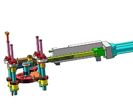 Unscrewing injection mold