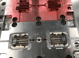 Electrial connector mold