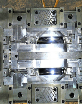 Gas Assist injection mold