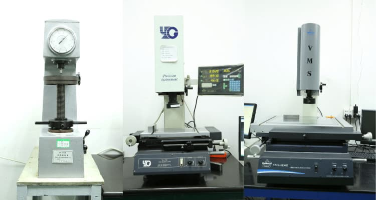 Hardness Tester & Optical Projector for Mold Manufacturing