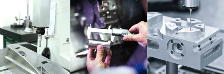 Quality control for CNC Machining Services