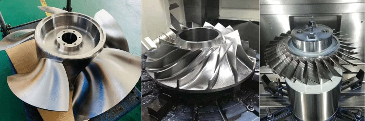 Turbo CNC Machining & Impeller CNC Machining services
